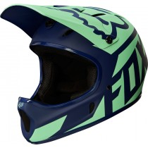 KASK ROWEROWY FOX RAMPAGE RACE NAVY/LIGHT BLUE