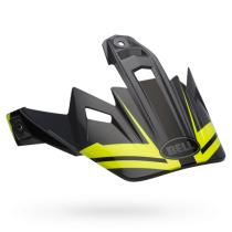 DASZEK BELL MX-9 ADVENTURE BARRICADE HI-VIS YELLOW MATT