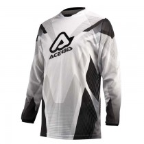 Bluza cross Acerbis Profile Vanted Black/White rozmiar S