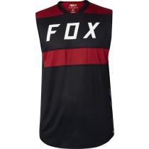 KOSZULKA FOX BEZ RĘKAWÓW FLEXAIR BLACK S