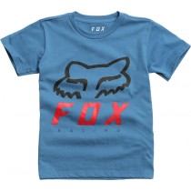 T-SHIRT FOX JUNIOR HERITAGE FORGER DUSTY BLUE KM