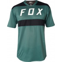 T-SHIRT FOX FLEXAIR EMERALD L