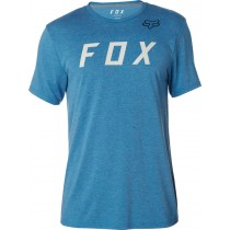 T-SHIRT FOX GRIZZLED TECH HEATHER BLUE L