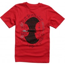 T-SHIRT FOX JUNIOR CURIO DARK RED YL