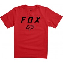 T-SHIRT FOX JUNIOR LEGACY MOTH DARK RED YM