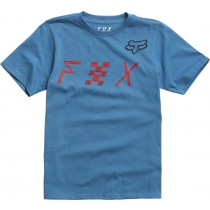 T-SHIRT FOX JUNIOR MIND BLOWN DUSTY BLUE YL