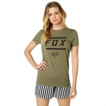 T-SHIRT FOX LADY LISTLESS FATIGUE GREEN L