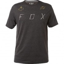 T-SHIRT FOX MELTED STEAL TECH HEATHER BLACK M