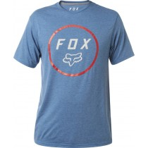 T-SHIRT FOX SETTLED TECH HEATHER BLUE L