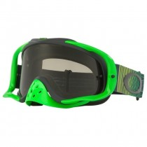Gogle OAKLEY CROWBAR SHOCKWAVE GREEN YELLOW w/Dark Grey