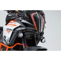 ZESTAW MONTAŻOWY LAMP KTM 1290 SUPER ADVENTURE (16-) BLACK SW-MOTECH