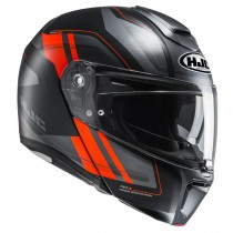 KASK HJC R-PHA-90 TANISK BLACK/ORANGE
