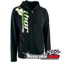 Bluza Thor Racer ZIP-UP Black rozmiar XL