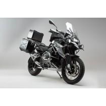 ZESTAW ADVENTURE PAKIET ZABEZPIECZAJĄCY MOTOCYKL BMW R1200GS LC (16-)/RALLYE (17-) SILVER