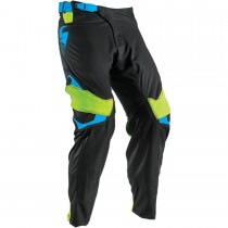 Spodnie crossowe enduro THOR PRIME FIT GREEN/BLACK