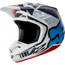 KASK FOX V-2 NIRV RED/WHITE M