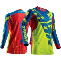 Bluza MX CROSS THOR PRIME FIT PARDIGM LIME/BLUE rozmiar L
