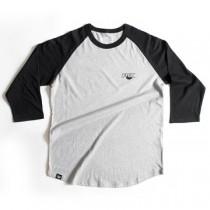 Koszulka Fox Track Raglan Gry/Blk Tee rozmiar L