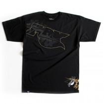 Koszulka Fox Flash Black Tee rozmiar M