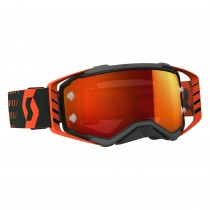 Gogle SCOTT PROSPECT Black / Orange - Lens Orange Chrome Works