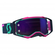 Gogle SCOTT PROSPECT Teal / Pink - Lens Purple Chrome Works