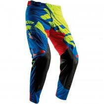 Spodnie cross Thor PRIME FIT LIME/BLUE rozmiar 32
