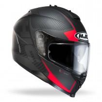 KASK MOTOCYKLOWY HJC IS-17 MISSION BLACK/RED rozmiar L