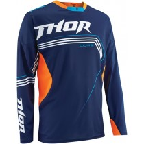 Bluza Thor CORE BEND NAVY FLUORESCENT ORANGE rozmiar M