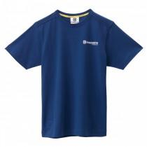 Koszulka HUSQVARNA  BASIC LOGO TEE BLUE Husky Style rozmiar M