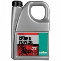 MOTOREX olej silnikowy do mieszanki CROSS POWER 2T 4L