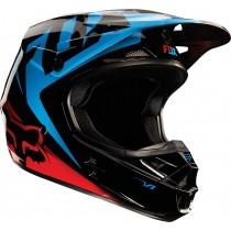 Kask FOX V1 RACE BLUE/RED rozmiar L