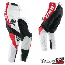 Spodnie Thor PHASE STREAK RED rozmiar 32/M