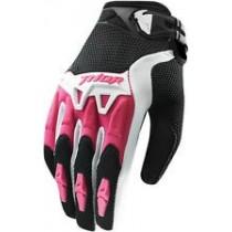Rekawice damskie Thor Spectrum S15 MX Pink rozmiar L