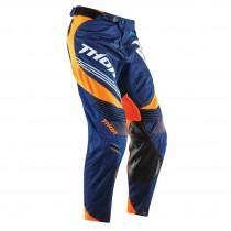 Spodnie Thor CORE BEND NAVY FLUORESCENT Orange rozmiar 36