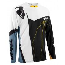 Bluza motocyklowa crossowa Thor CORE BEND BLACK / STEEL rozmiar L