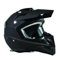 Kask motocyklowy OZONE FMX Black Mat