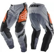 Spodnie motocyklowe cross enduro Fox 180 Race Orange rozmiar 30
