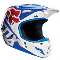 Kask FOX V1 Race Blue rozmiar M