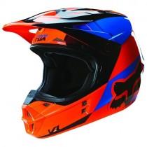Kask FOX V1 Race Mako Orange XS