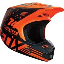 Kask crossowy FOX V2 Union Orange rozmiar XL