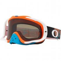 Gogle Oakley CROWBAR MX CIRCUIT Orange Blue w/Dark Grey