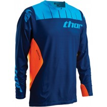 Bluza MX CROSS THOR S16 CORE CONTRO NAVY/FLO ORANGE rozmiar M