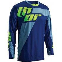 Bluza MX CROSS THOR S16 CORE MERGE NAVY/LIME rozmiar M