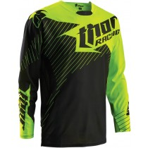 Bluza MX CROSS THOR CORE S16 HUX BLACK / FLUO GREEN rozmiar M