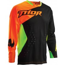 Bluza MX CROSS THOR CORE S16 AIR DIVIDE BLACK / FLUO rozmiar XL