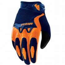Rekawiczki crossowe Thor Spectrum S16 Navy/Orange