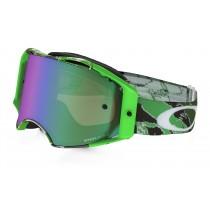 Gogle OAKLEY AIRBRAKE MX ElI Tomac Neon Green Camo w/Prizm Jade Iridium
