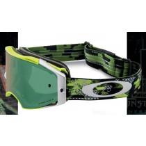 Gogle Oakley AIRBRAKE MX Eli Tomac Military DigiGreen w/Prizm Jade Iridium