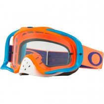 Gogle Oakley CROWBAR MX Orange/Blue