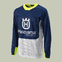 Bluza Motocyklowa MX HUSQVARNA GOTLAND SHIRT Blue rozmiar M